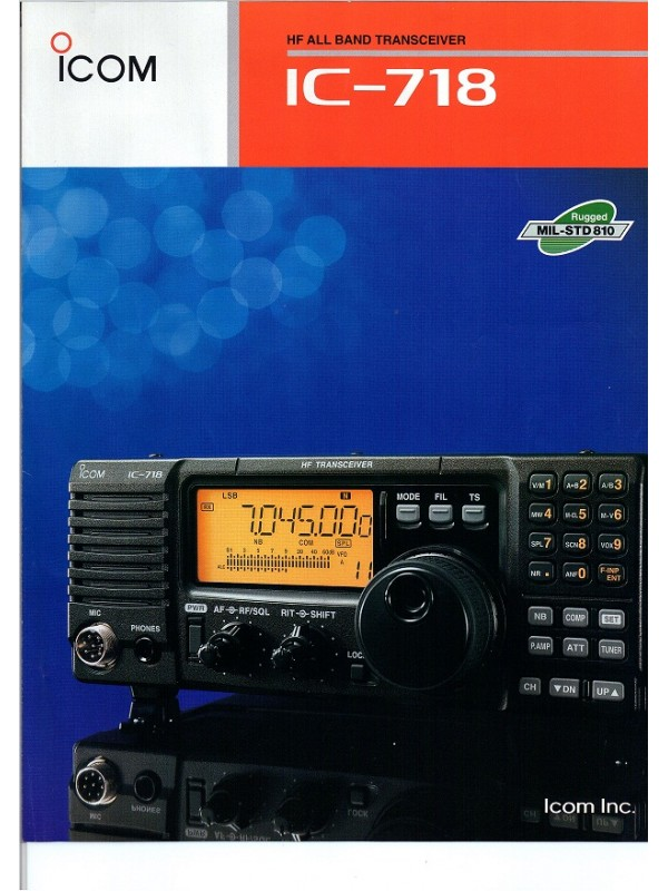 SSB icom IC-718
