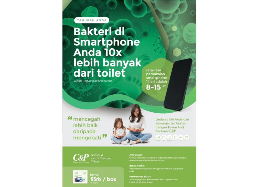 Tissue anti bakteri