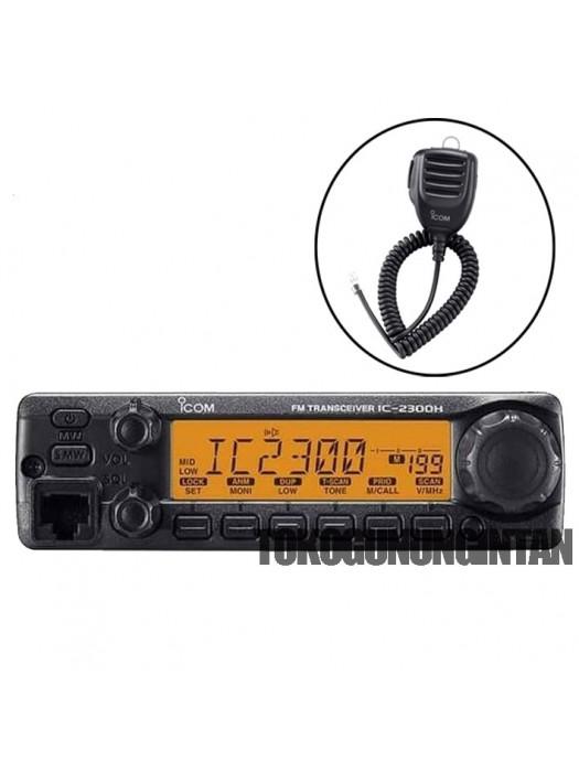 Rig Icom IC-2300H + mic HM 154 keypad